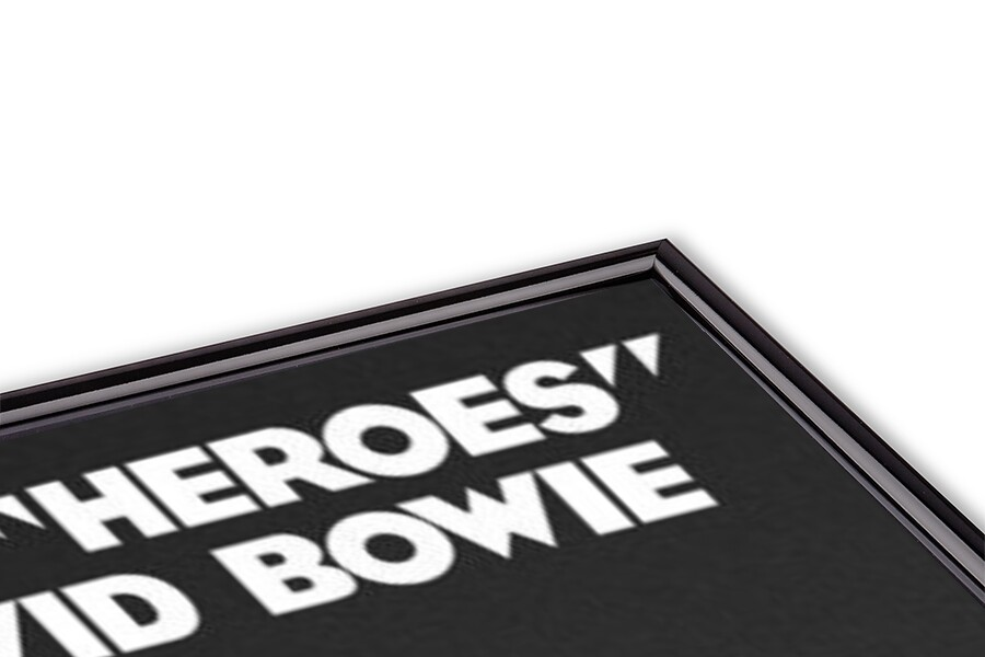 David Bowie - Heroes Poster