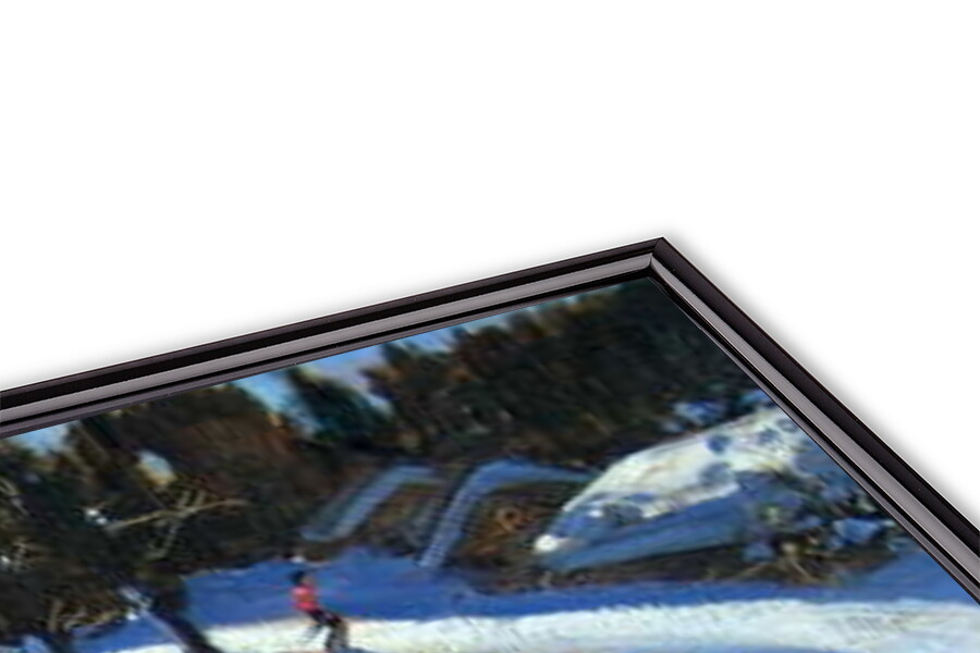 Fine Art Print Winding Trail, Morzine