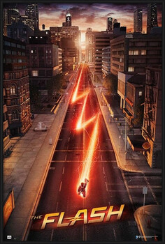 Framed Poster The Flash - One Sheet