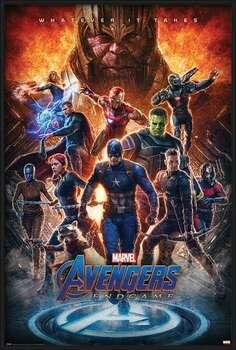 Framed Poster Avengers: Endgame - Whatever It Takes