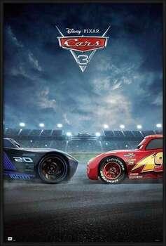 Framed Poster Cars 3 - Duel