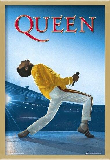 Queen - Live At Wembley Poster