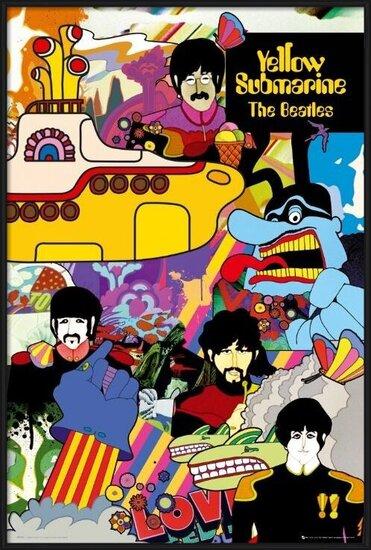 the Beatles - yellow submarine Poster