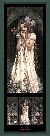 Victoria Frances - triptych Poster