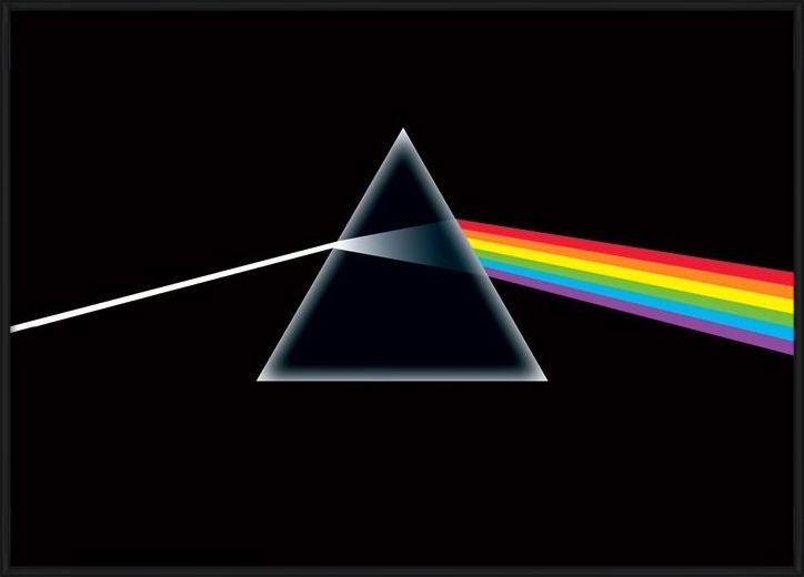 Pink Floyd - dark side Poster