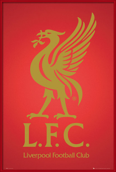 Liverpool - club crest 2013 Poster