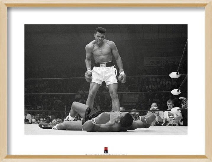 Muhammad Ali vs Liston Art Print