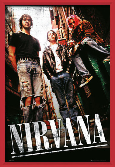 Nirvana - alley Poster
