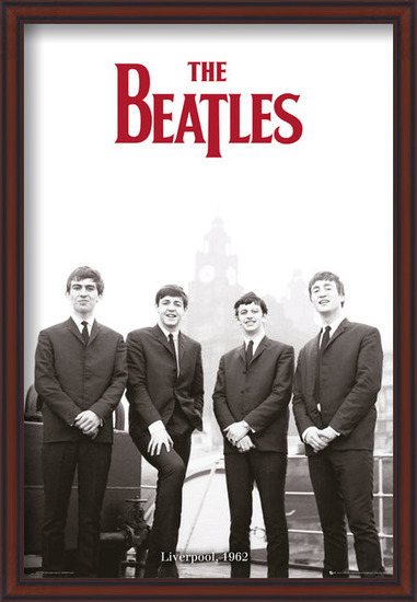 The Beatles - Liverpool 1962 Poster