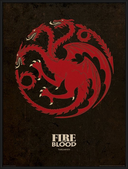 Game of Thrones - Targaryen Art Print