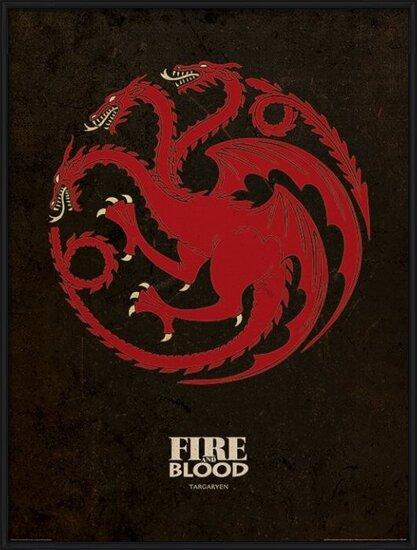 Game of Thrones - Targaryen Art Print