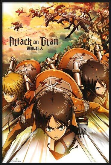 Attack on Titan (Shingeki no kyojin) - Attack Poster