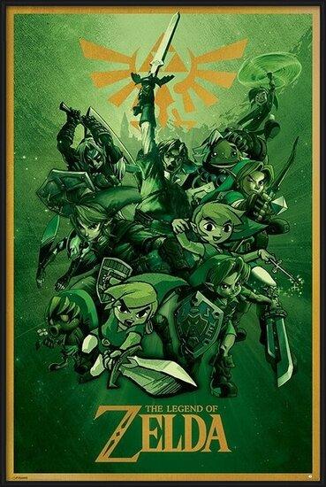 The Legend Of Zelda - Link Poster