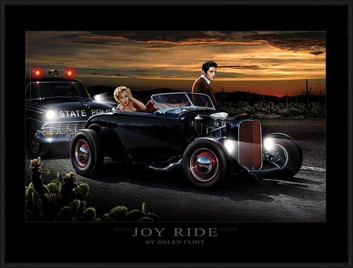 Joy Ride - Helen Flint Art Print
