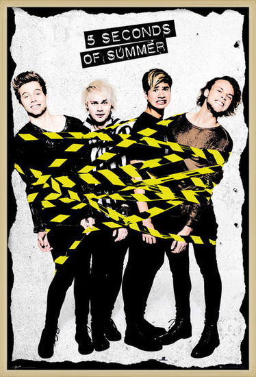 5 Seconds Of Summer - Tape Poster