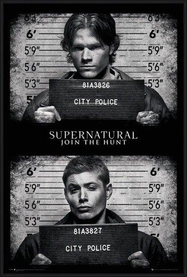Supernatural - Mug Shots Poster