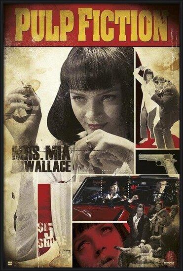 Pulp Fiction - Mia Poster