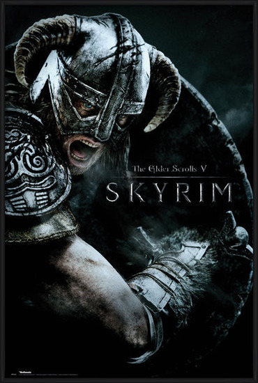 Skyrim - Attack Poster