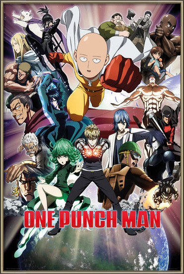 One Punch Man - Collage Poster