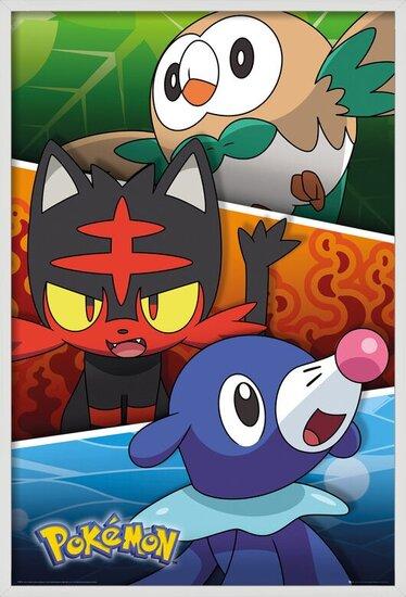 Pokemon - Alola Partners Poster