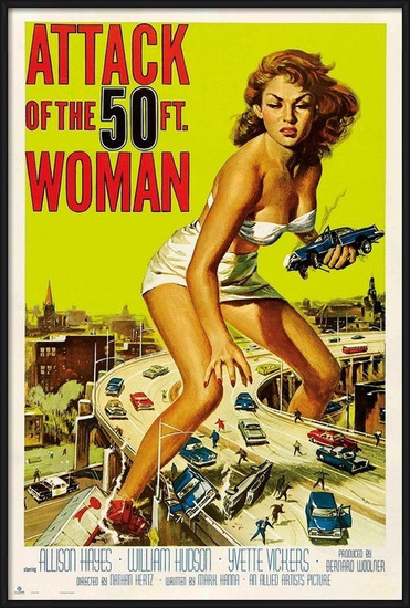 Attack Of The 50Th Woman Poster