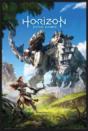 Horizon Zero Dawn - Key Art Poster