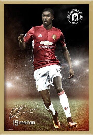Mancherster United - Rashford 16/17 Poster