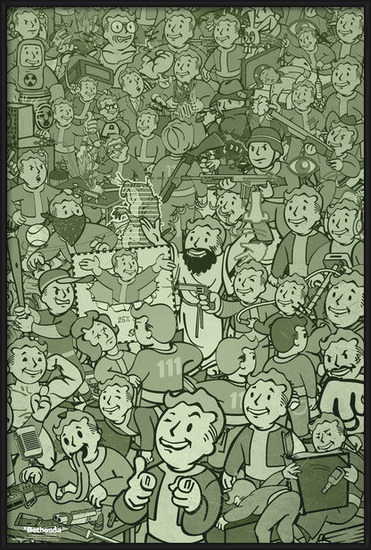 Fallout - Compilation Poster