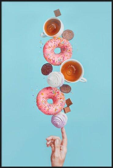 Art Print on Demand Weekend donuts