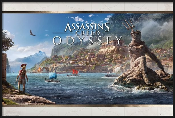 Assassins Creed Odyssey - Vista Poster