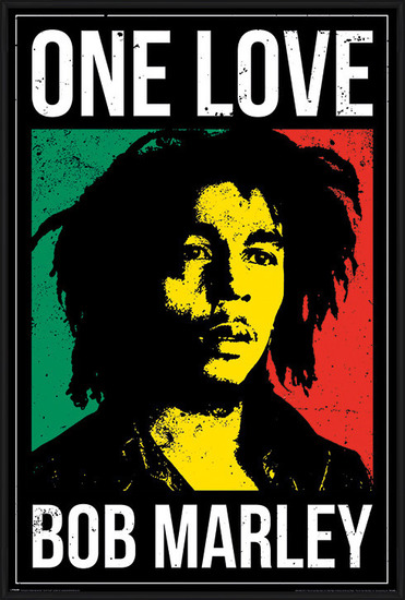 Bob Marley - One Love Poster