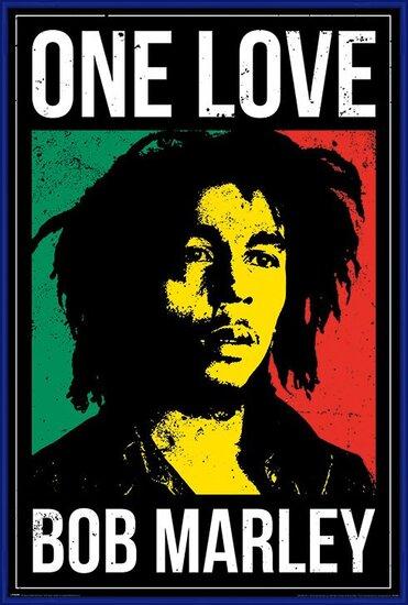 Bob Marley - One Love Poster