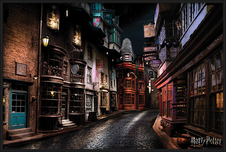Harry Potter - Diagon Alley Poster