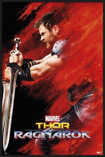 Thor: Ragnarok - Thor Red Dust Poster