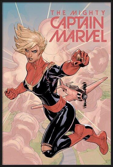 Captain Marvel - Flight Poster