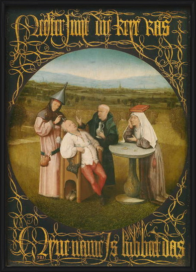 Fine Art Print  The Cure of Folly, c.1494