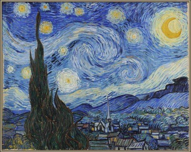 Fine Art Print  The Starry Night, June 1889