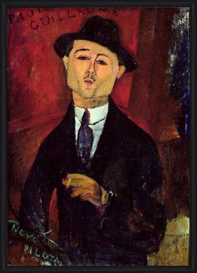 Fine Art Print Paul Guillaume (1893-1934) Novo Pilota, 1915