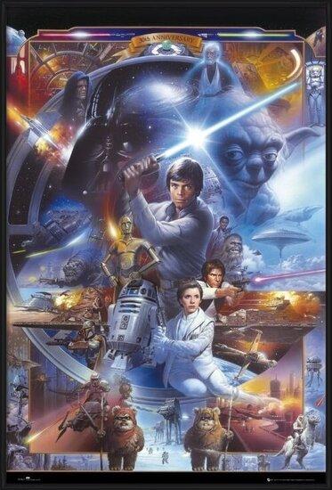STAR WARS - 30th anniversary Poster