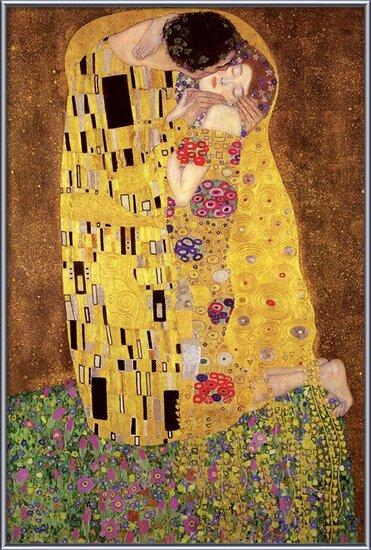 Gustav Klimt – kiss Poster