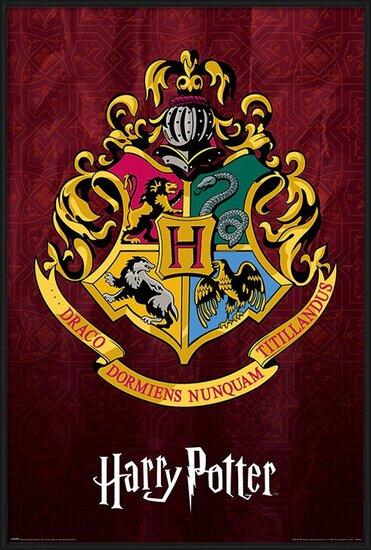 Harry Potter - Hogwarts School Crest Poster