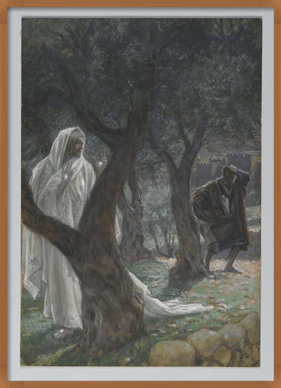Fine Art Print Apparition of Our Lord to Saint Peter, illustration from 'The Life of Our Lord Jesus Christ', 1886-94