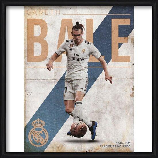 Real Madrid - Bale Art Print