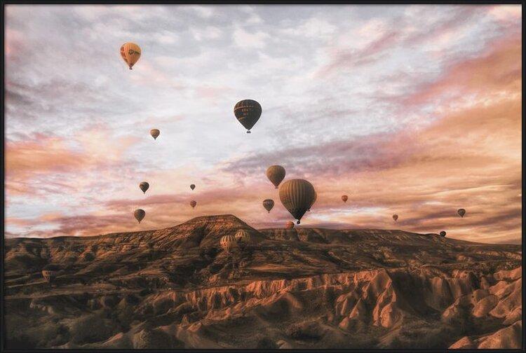 Art Print on Demand Cappodocia Hot Air Balloon