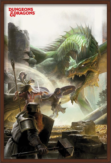 Dungeons & Dragons - Adventure Poster