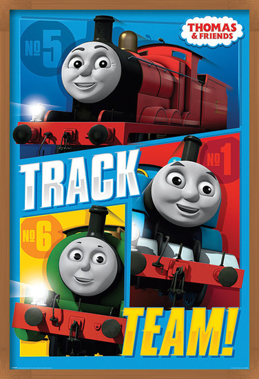 Thomas & Friends - Track Team Poster