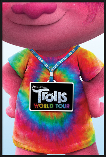 Trolls World Tour - Backstage Pass Poster