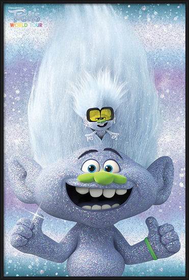 Trolls World Tour - Guy Diamond and Tiny Poster