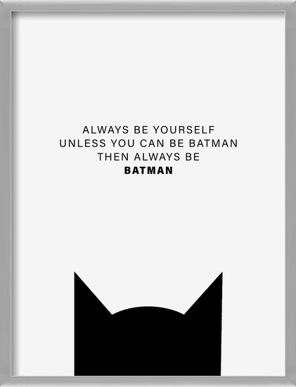 Art Print on Demand batman3
