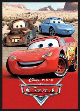 3D Poster CARS - charecters 3D